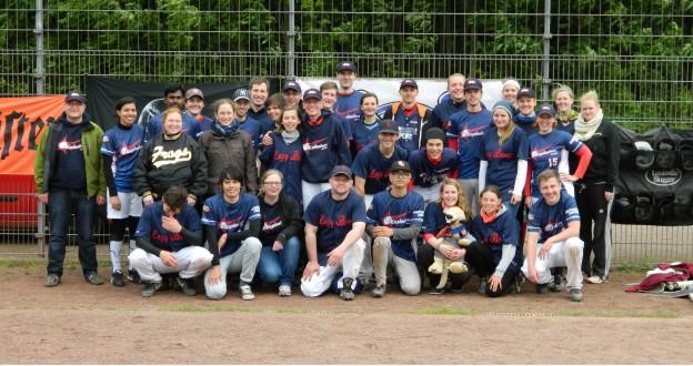Nach einem ultra spannenden Spiel musste unbedingt noch ein Gruppenfoto her :)